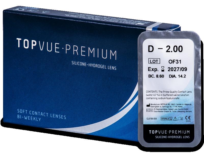 TopVue Premium (1db lencse) - Kétheti kontaktlencse