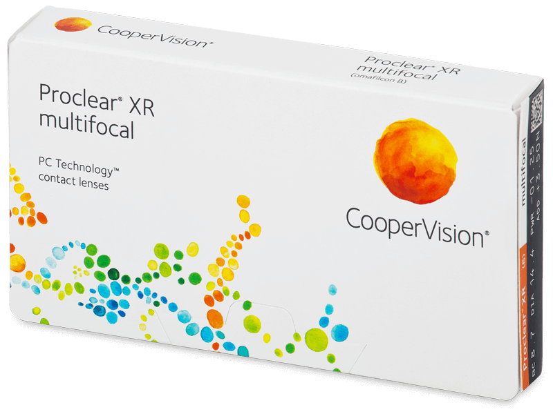 Proclear Multifocal XR (6 db lencse) - Multifokális kontaktlencsék