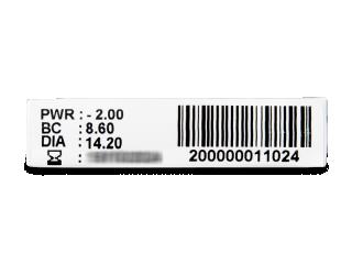TopVue Monthly Plus (6db lencse) - Paraméterek előnézete