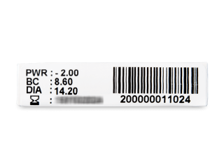 TopVue Monthly Plus (1 db lencse) - Paraméterek előnézete
