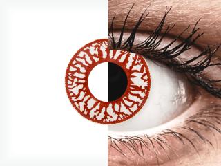 ColourVUE Crazy Lens - Blood Shot - dioptria nélkül napi lencsék (2db lencse)