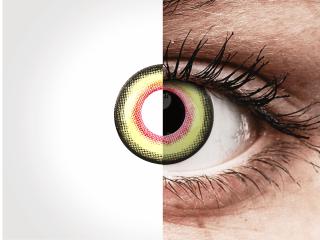 ColourVUE Crazy Lens - Mad Hatter - dioptria nélkül napi lencsék (2db lencse)