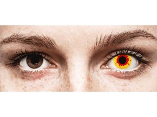 ColourVUE Crazy Lens - Reignfire - dioptria nélkül napi lencsék (2db lencse)