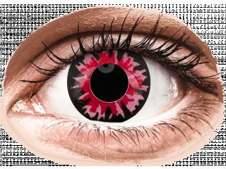 ColourVUE Crazy Lens - Volturi - dioptria nélkül napi lencsék (2db lencse)