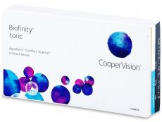 Biofinity Toric (3db lencse) - Tórikus kontaktlencsék