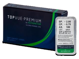 TopVue Premium for Astigmatism (1 db lencse)