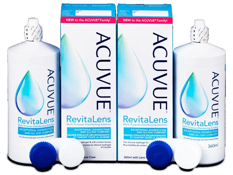 Acuvue RevitaLens ápolószer 2 x 360 ml  - Gazdaságos duo kiszerelés - ápolószer
