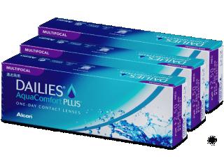 Dailies AquaComfort Plus Multifocal (90db lencse) - Multifokális kontaktlencsék
