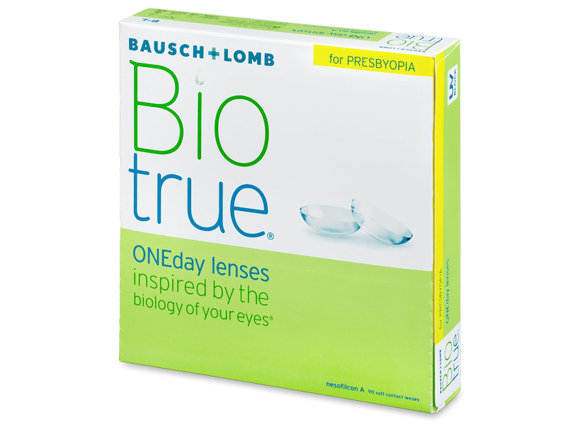 Biotrue ONEday for Presbyopia (90 lencse) - Napi kontaktlencsék
