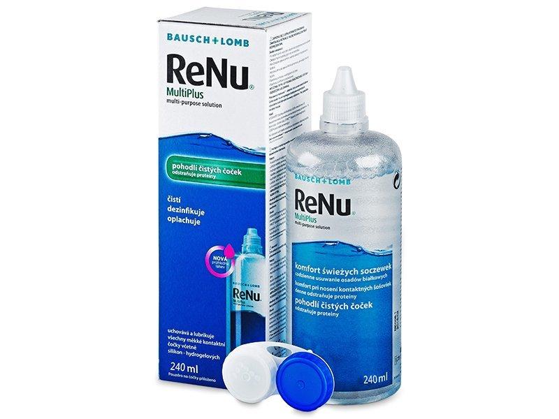 ReNu MultiPlus kontaktlencse folyadék 240ml  - Korábbi csomagolás