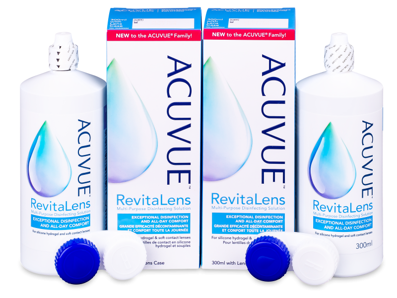 Acuvue RevitaLens ápolószer 2 x 300 ml  - Economy duo pack- solution