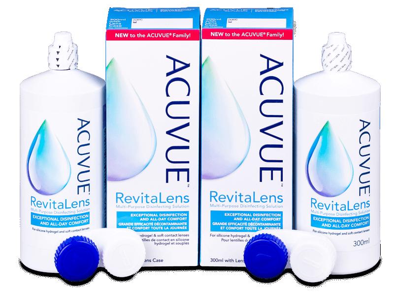 Acuvue RevitaLens ápolószer 2 x 300 ml  - Gazdaságos duo kiszerelés - ápolószer