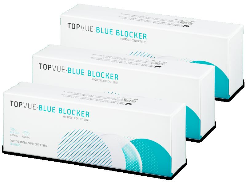 TopVue Blue Blocker (90 db lencse) - Napi kontaktlencsék