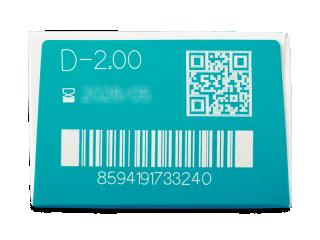 TopVue Blue Blocker (180 db lencse) - Paraméterek előnézete