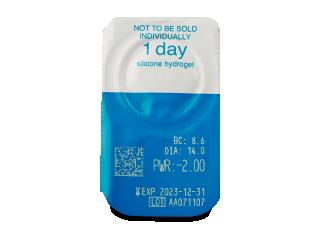 Live Daily Disposable (30 db lencse) - Buborékcsomagolás előnézete