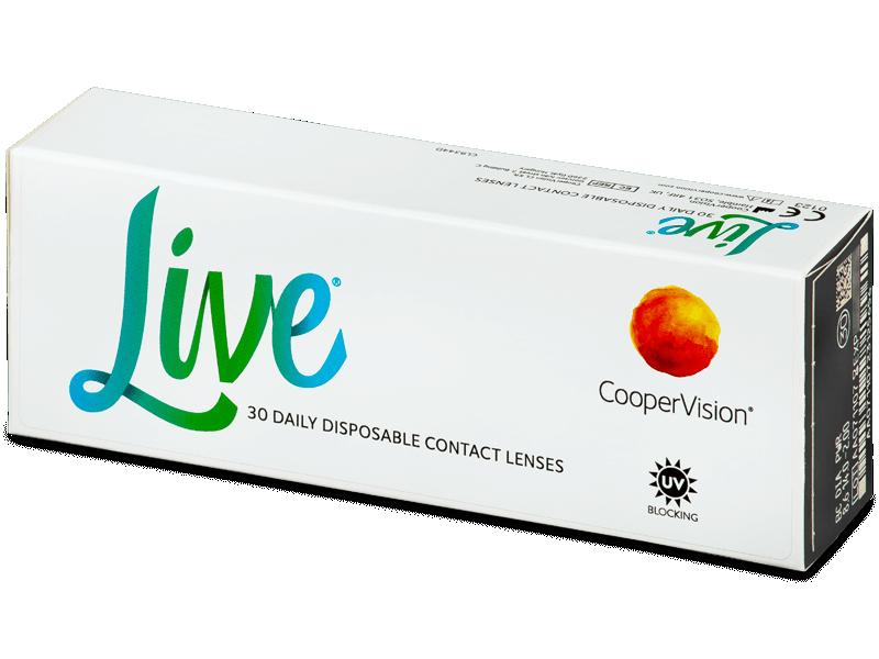 Live Daily Disposable (30 db lencse) - Napi kontaktlencsék