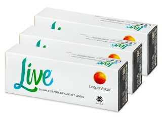 Live Daily Disposable (90 db lencse)