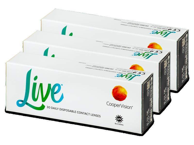 Live Daily Disposable (90 db lencse) - Napi kontaktlencsék