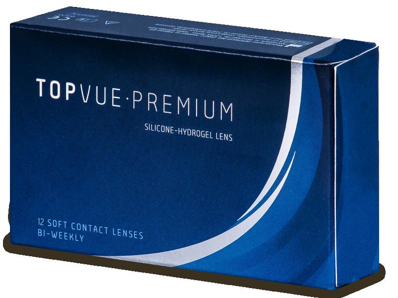 TopVue Premium (12 db lencse) - Kétheti kontaktlencse