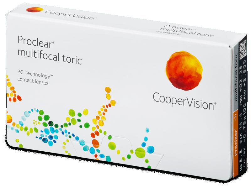Proclear Multifocal Toric (3 db lencse) - Havi kontaktlencsék