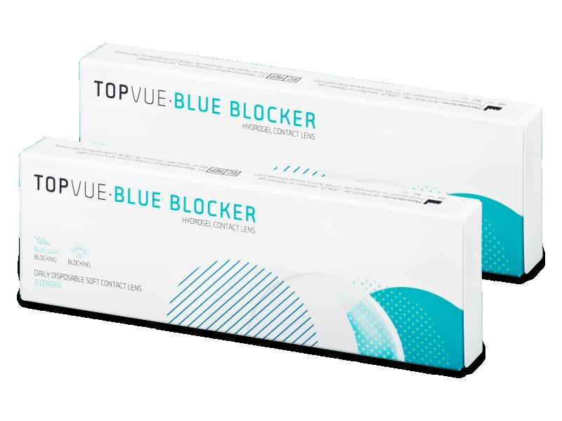 TopVue Blue Blocker (5pár) - Napi kontaktlencsék