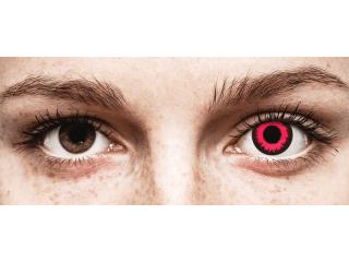 CRAZY LENS - Vampire Queen - dioptria nélkül napi lencsék (2 db lencse)