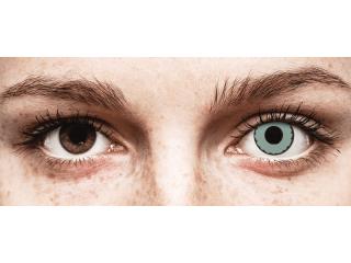 CRAZY LENS - Zombie Virus - dioptriával napi lencsék (2 db lencse)