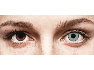 CRAZY LENS - Zombie Virus - dioptria nélkül napi lencsék (2 db lencse)