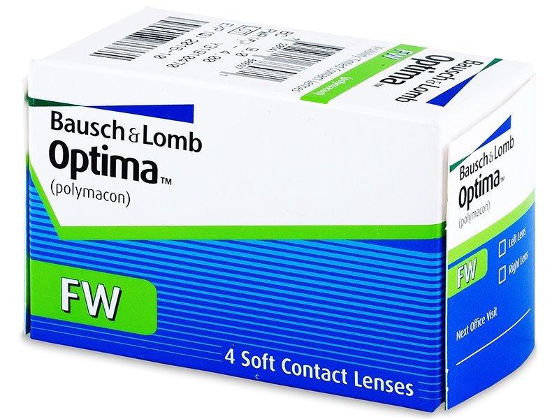 Quarterly Optima FW (4 db lencse) - Havi kontaktlencsék