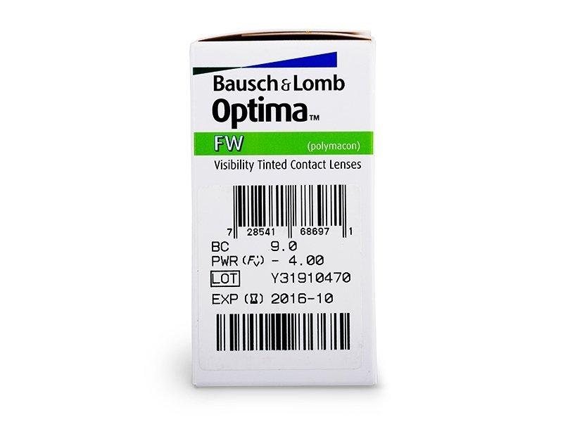 Quarterly Optima FW (4 db lencse) - Paraméterek előnézete
