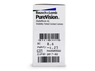 PureVision (6db lencse) - Paraméterek előnézete