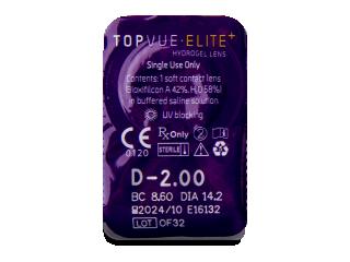 TopVue Elite+ (30 db lencse) - Buborékcsomagolás előnézete
