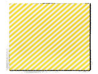 Tisztítókendő szemüveghez - sárga csíkos