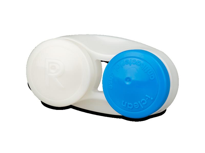 Kék antibakteriális kontaktlencse tartó