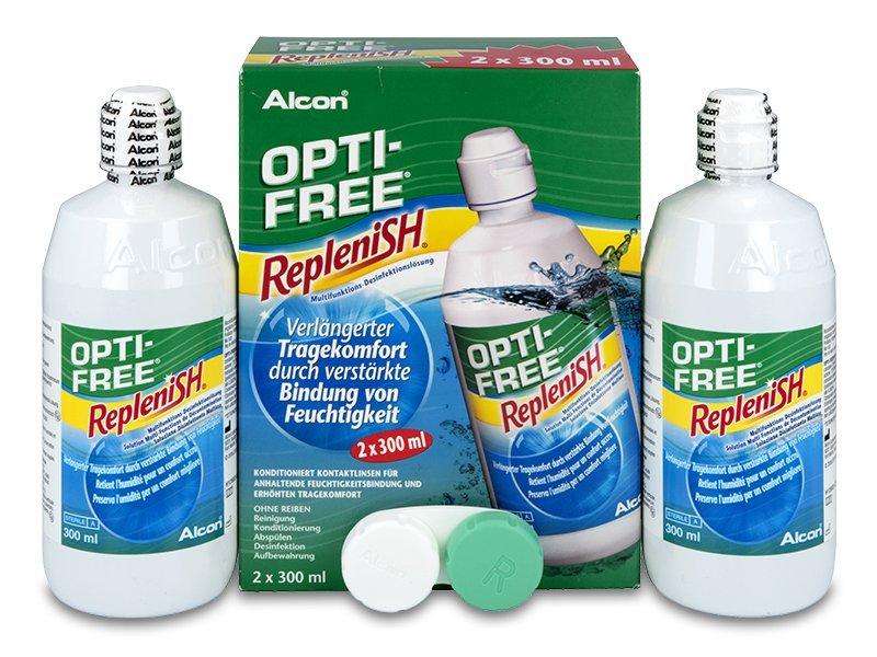 OPTI-FREE RepleniSH kontaktlencse folyadék 2x300ml  - Korábbi csomagolás