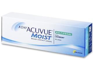 1 Day Acuvue Moist Multifocal (30 db lencse) - Tórikus kontaktlencsék