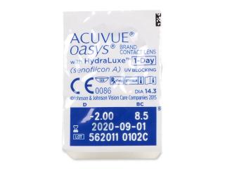 Acuvue Oasys 1-Day (30 db lencse) - Buborékcsomagolás előnézete