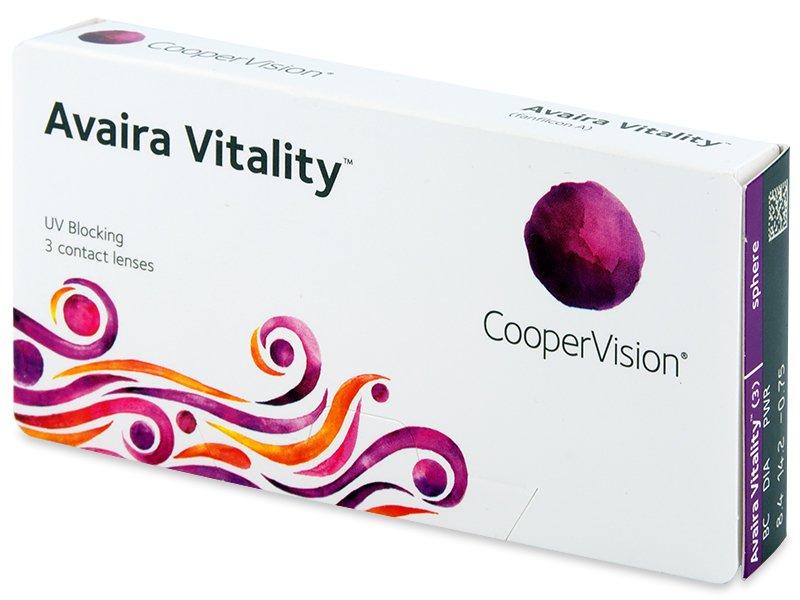 Avaira Vitality (3 db lencse) - Contact lenses