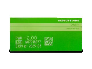 Biotrue ONEday (90db lencse) - Paraméterek előnézete