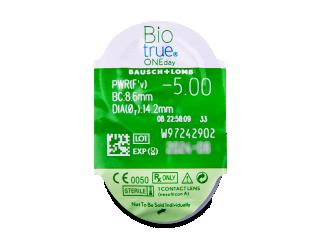 Biotrue ONEday (90db lencse) - Buborékcsomagolás előnézete