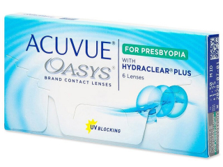 Acuvue 									Oasys for Presbyopia (6 db lencse)
