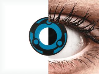 CRAZY LENS -  Vision - dioptria nélkül napi lencsék (2 db lencse)