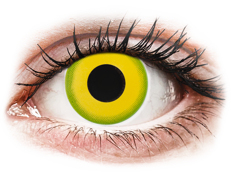 CRAZY LENS - Forest Children - dioptria nélkül napi lencsék (2 db lencse) - Coloured contact lenses