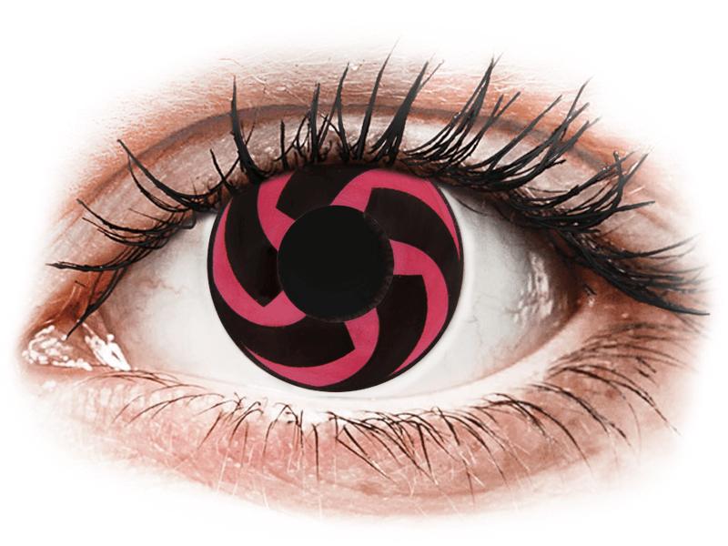CRAZY LENS - Haku - dioptria nélkül napi lencsék (2 db lencse) - Coloured contact lenses