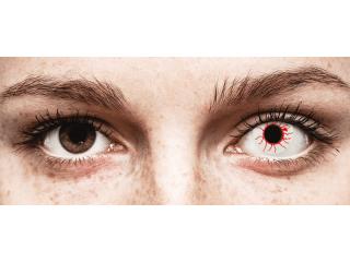 CRAZY LENS - Red Viper - dioptria nélkül napi lencsék (2 db lencse)