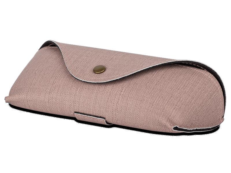 Rózsaszín szemüvegtok SH224-1