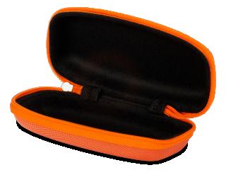 Cipzáras gyermek szemüvegtok - narancs