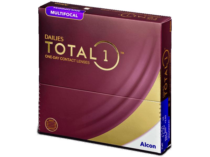 Dailies TOTAL1 Multifocal (90 lencse) - Multifokális kontaktlencsék