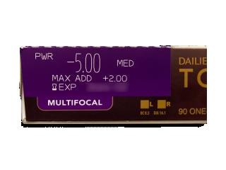 Dailies TOTAL1 Multifocal (90 lencse) - Paraméterek előnézete
