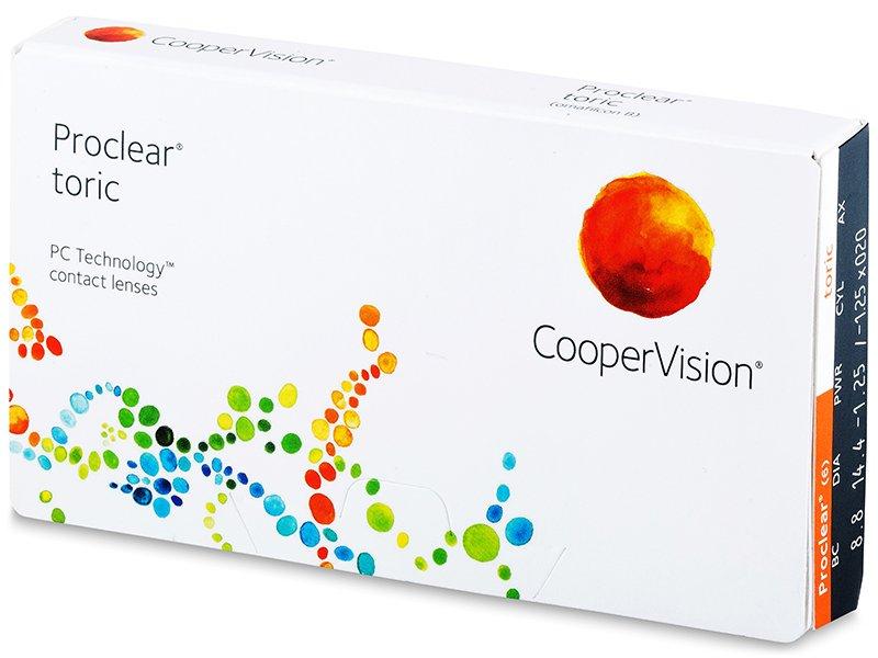 Proclear Toric (3 db lencse) - Tórikus kontaktlencsék
